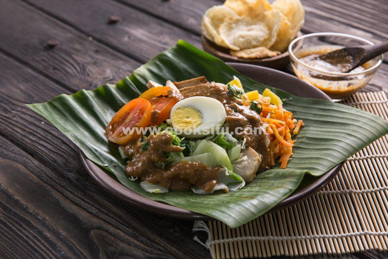 Indonesian Vegetable Salad Gado Gado Cooksifu Place No 1 To Store Your Recipe