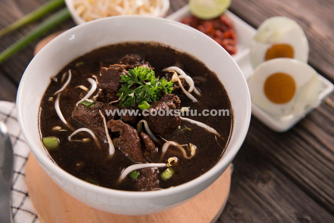 Indonesian Beef Black Soup