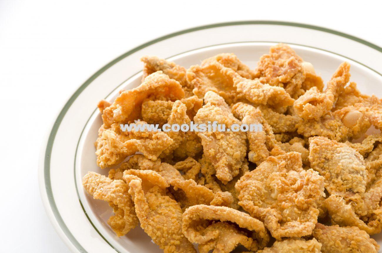 Crispy Fried Chicken Skin