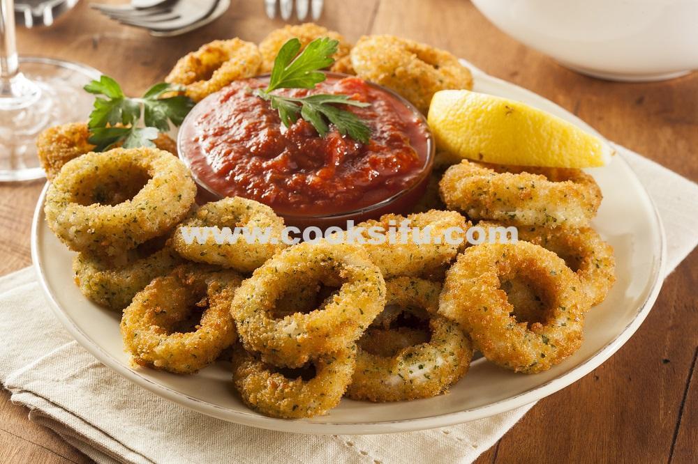 Fried Breaded Calamari
