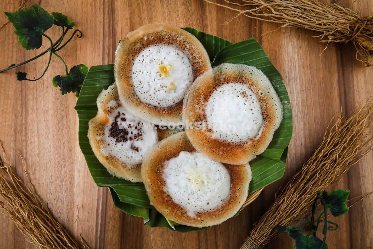 Indonesian Rice Flour Pancake (Serabi Solo)