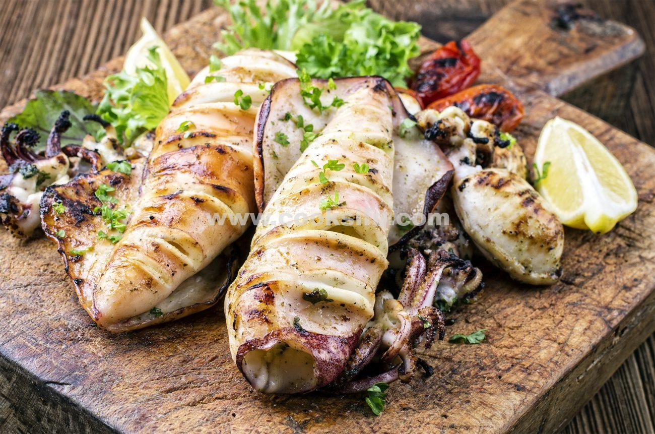 Easy Grilled Whole Squid (Calamari)