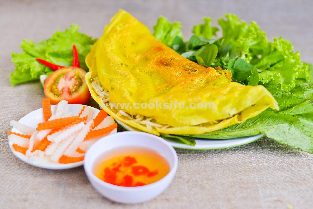 Crispy Vietnamese Rice Pancake