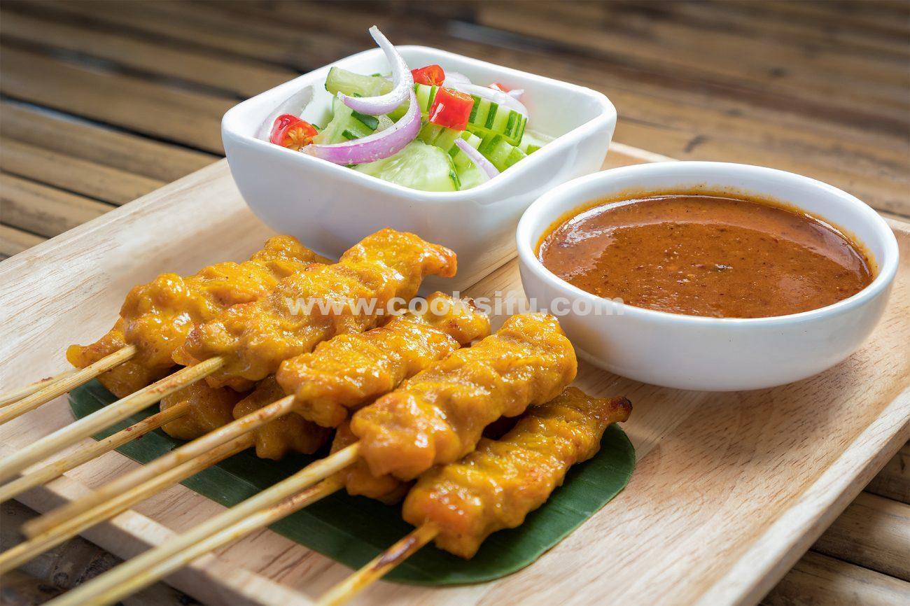 Thai Pork Satay (Moo Satay)