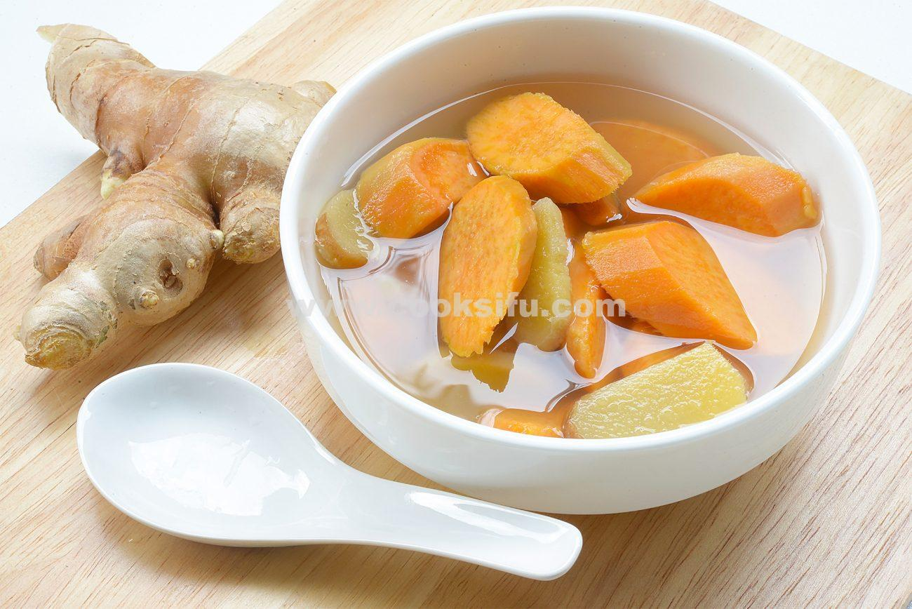 Sweet Potato and Ginger Dessert Soup