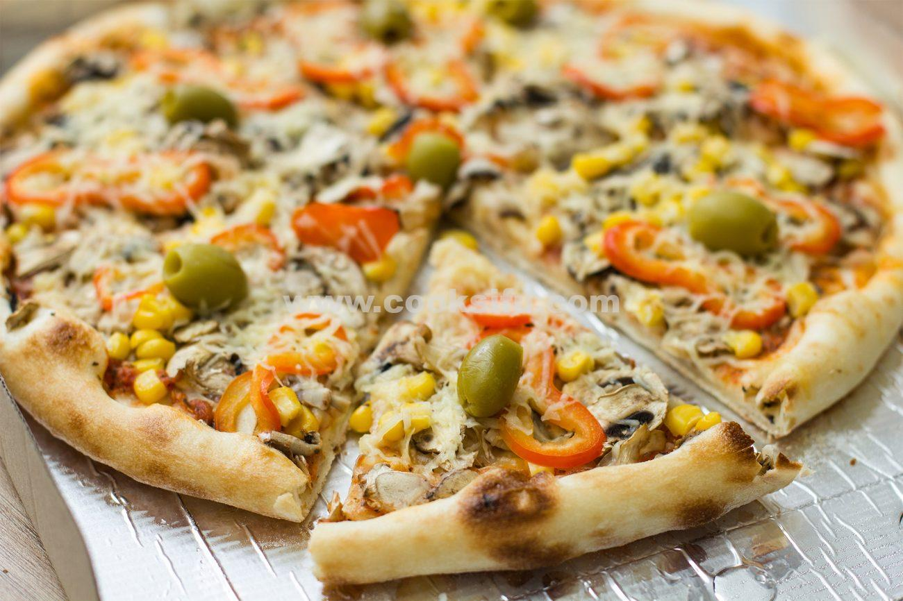 Gluten Free Vegetarian Pizza