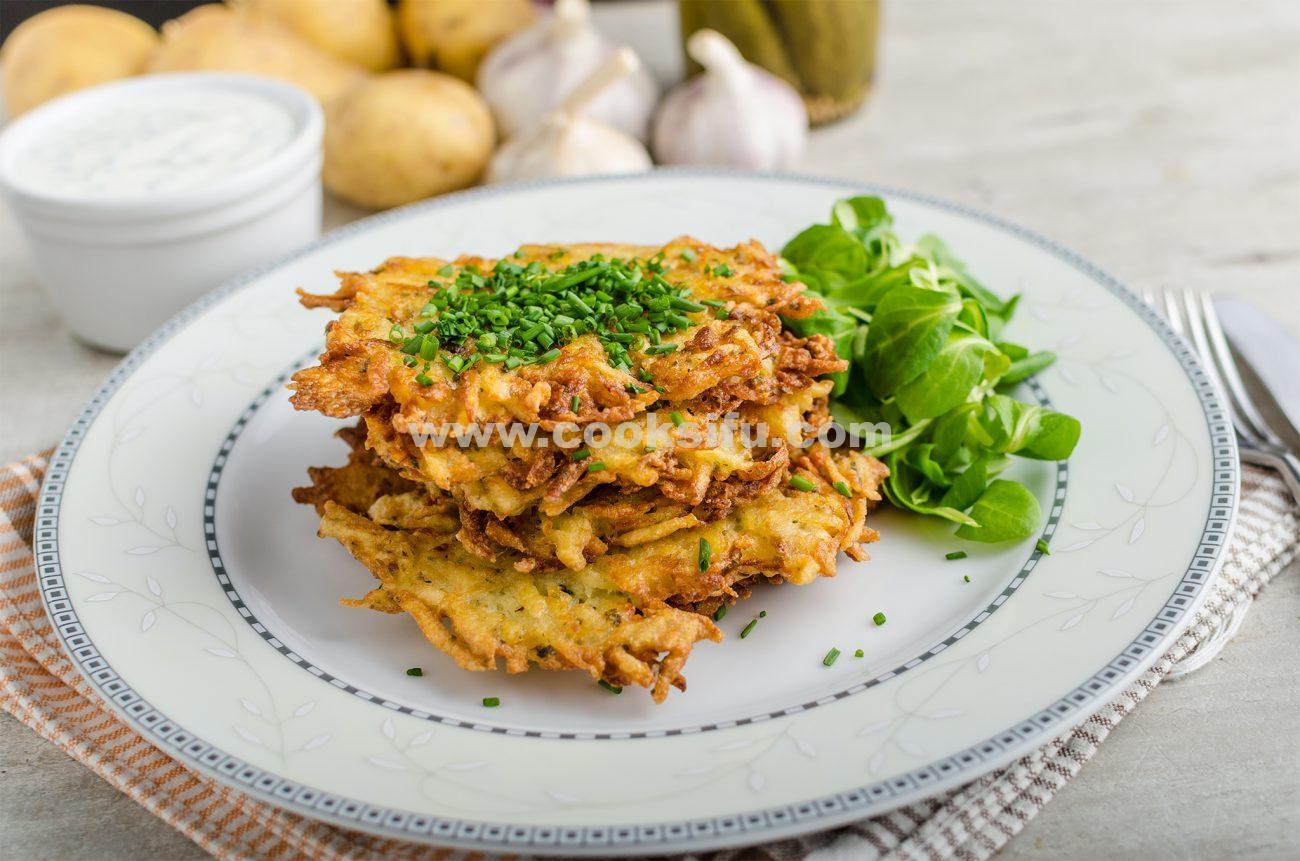 Czech Savory Potato Pancakes (Bramboráčky)