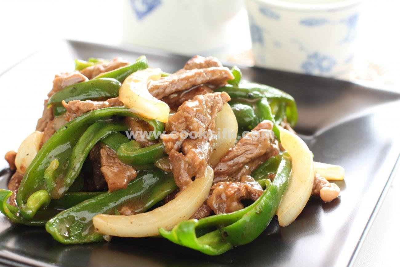 Beef and Green Pepper Stir Fry