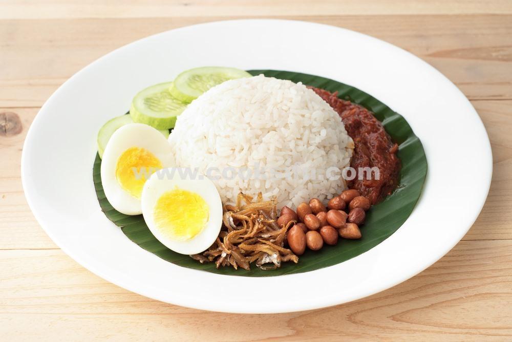 Coconut Milk Rice – The Authentic Nasi Lemak