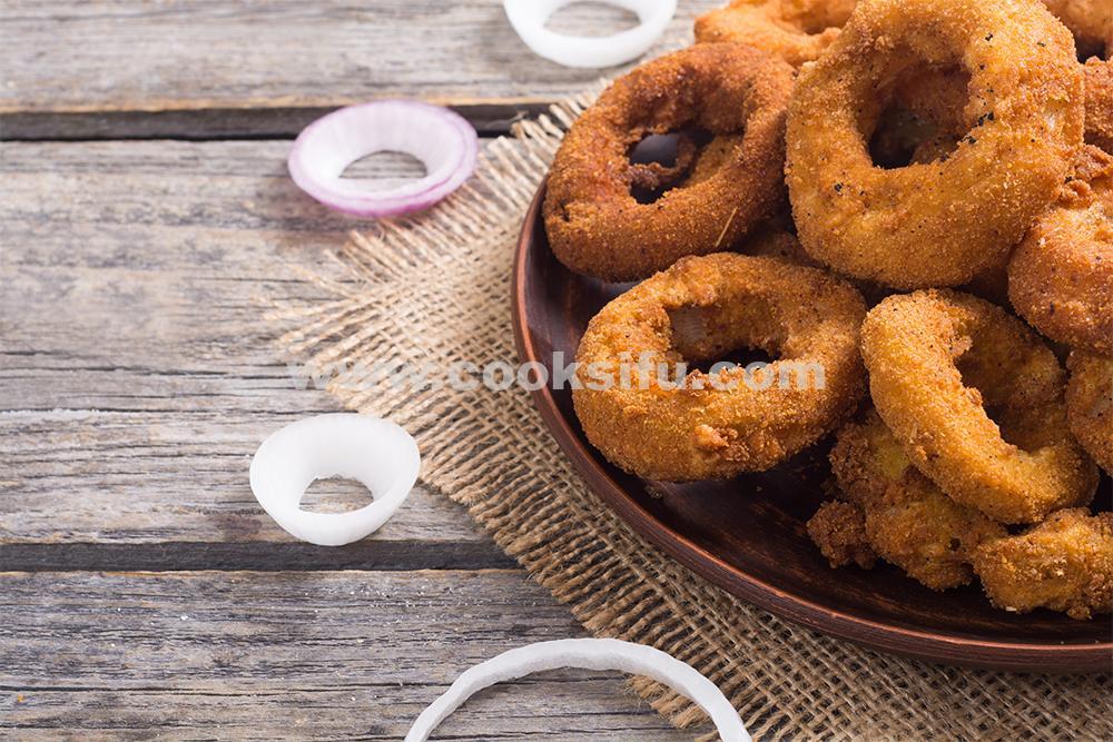 Onion Rings Recipe | How to Make Homemade Crispy Onion Rings